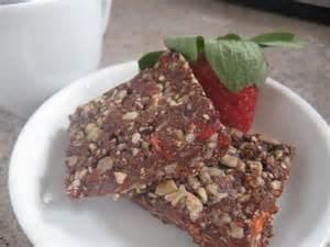 jaffa nut brownie