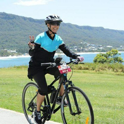 MS Syd to Gong 90km cycle