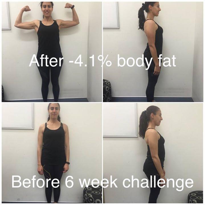 My Body transformation challenge